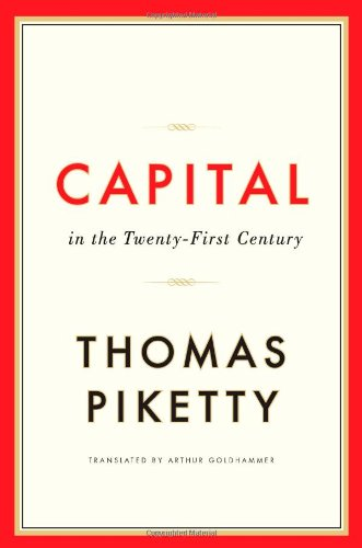 The cover of Capital in the Twenty-First Century