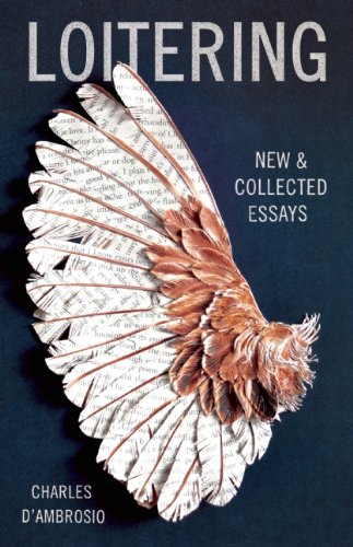 The cover of Loitering: New and Collected Essays