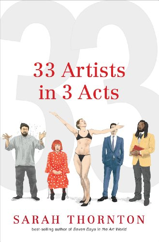 The cover of 33 Artists in 3 Acts