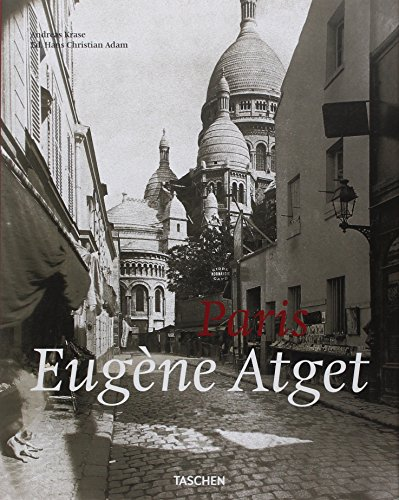 The cover of Atget: Paris (Taschen 25th Anniversary Edition)
