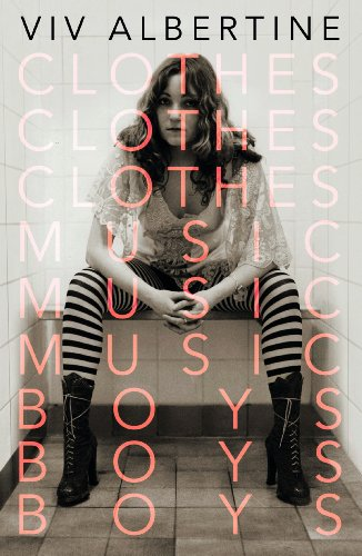 The cover of Clothes, Clothes, Clothes. Music, Music, Music. Boys, Boys, Boys.