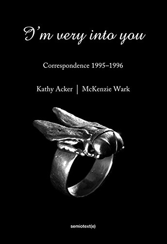 The cover of I'm Very into You: Correspondence 1995--1996 (Semiotext(e))