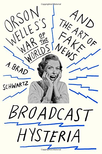 The cover of Broadcast Hysteria: Orson Welles's War of the Worlds and the Art of Fake News