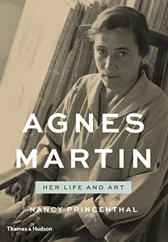The cover of Agnes Martin: Her Life and Art