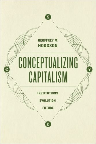 The cover of Conceptualizing Capitalism: Institutions, Evolution, Future