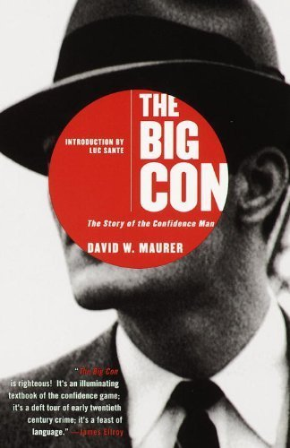 The cover of The Big Con: The Story of the Confidence Man