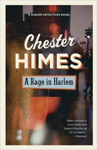 The cover of A Rage in Harlem