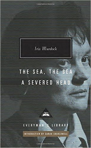 The cover of The Sea, The Sea; A Severed Head