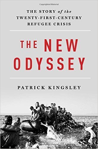 The cover of The New Odyssey: The Story of the Twenty-First-Century Refugee Crisis