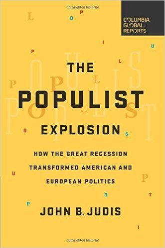 The cover of The Populist Explosion