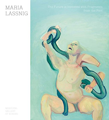 The cover of Maria Lassnig: The Future Is Invented with Fragments from the Past