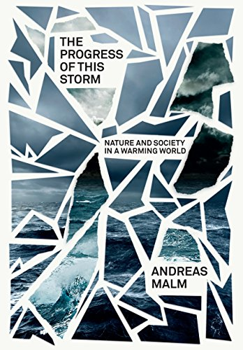 The cover of The Progress of This Storm: Nature and Society in a Warming World (Verso Futures)