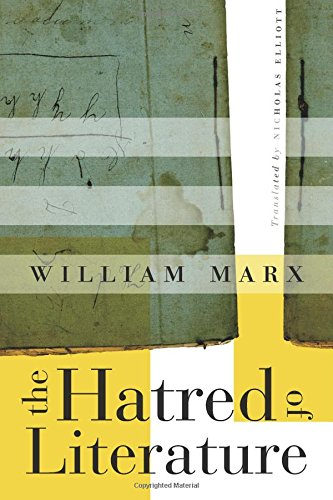 The cover of The Hatred of Literature