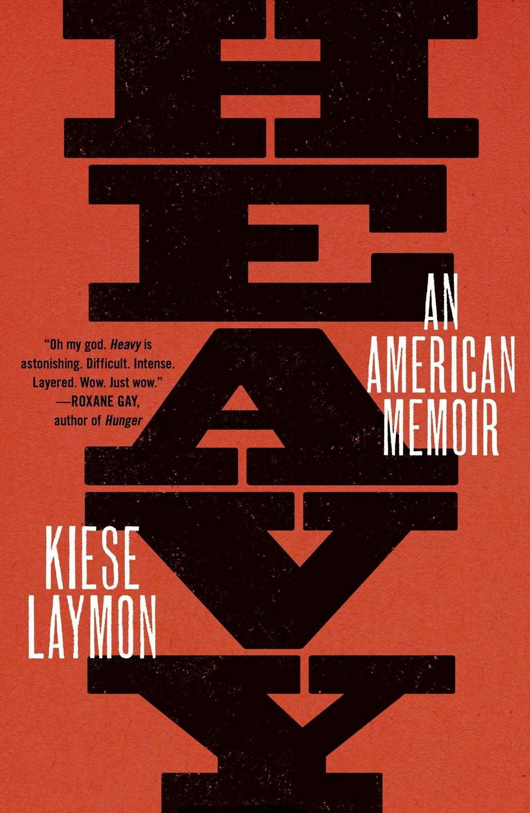 The cover of Heavy: An American Memoir