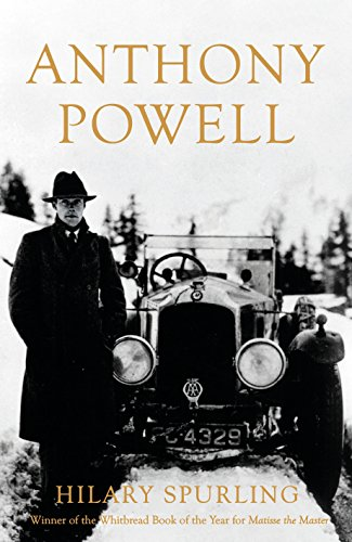 The cover of Anthony Powell: Dancing to the Music of Time