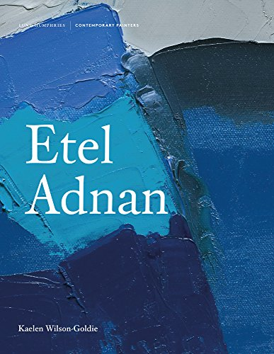 The cover of Etel Adnan (Contemporary Painters Series)