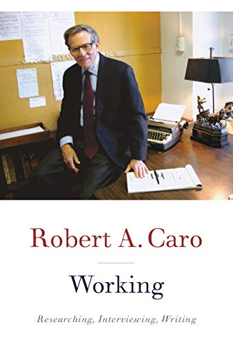 The cover of Working: Researching, Interviewing, Writing