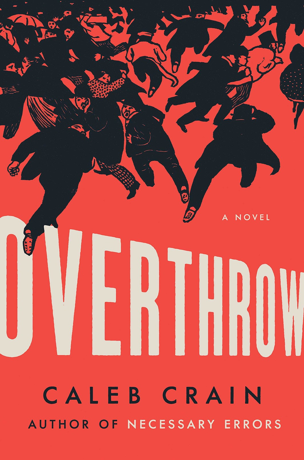 The cover of Overthrow