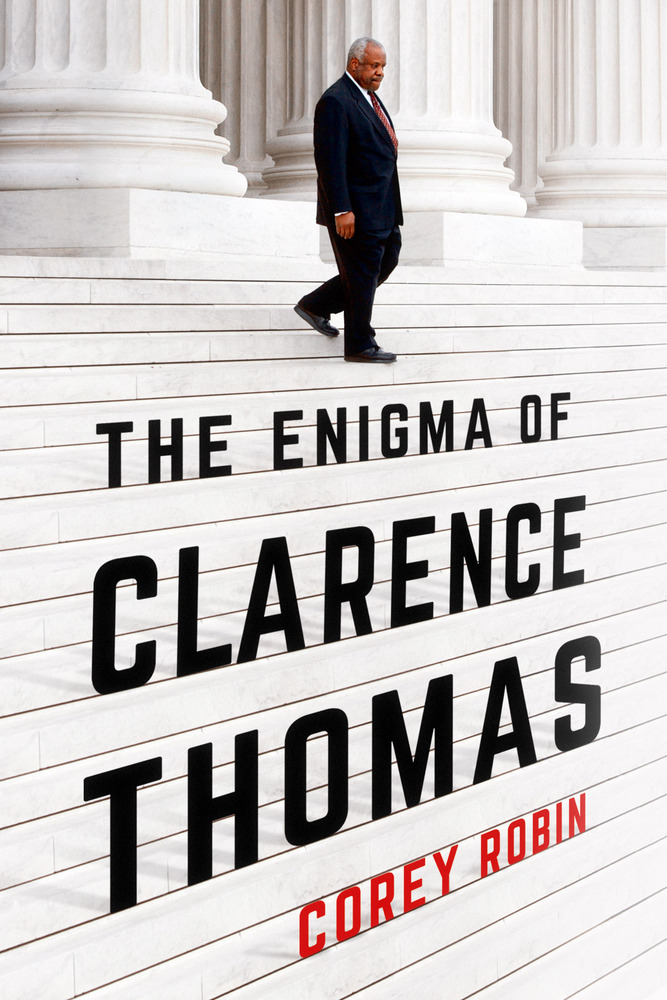 The cover of The Enigma of Clarence Thomas