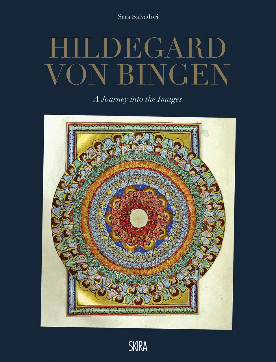 The cover of Hildegard von Bingen: A Journey into the Images