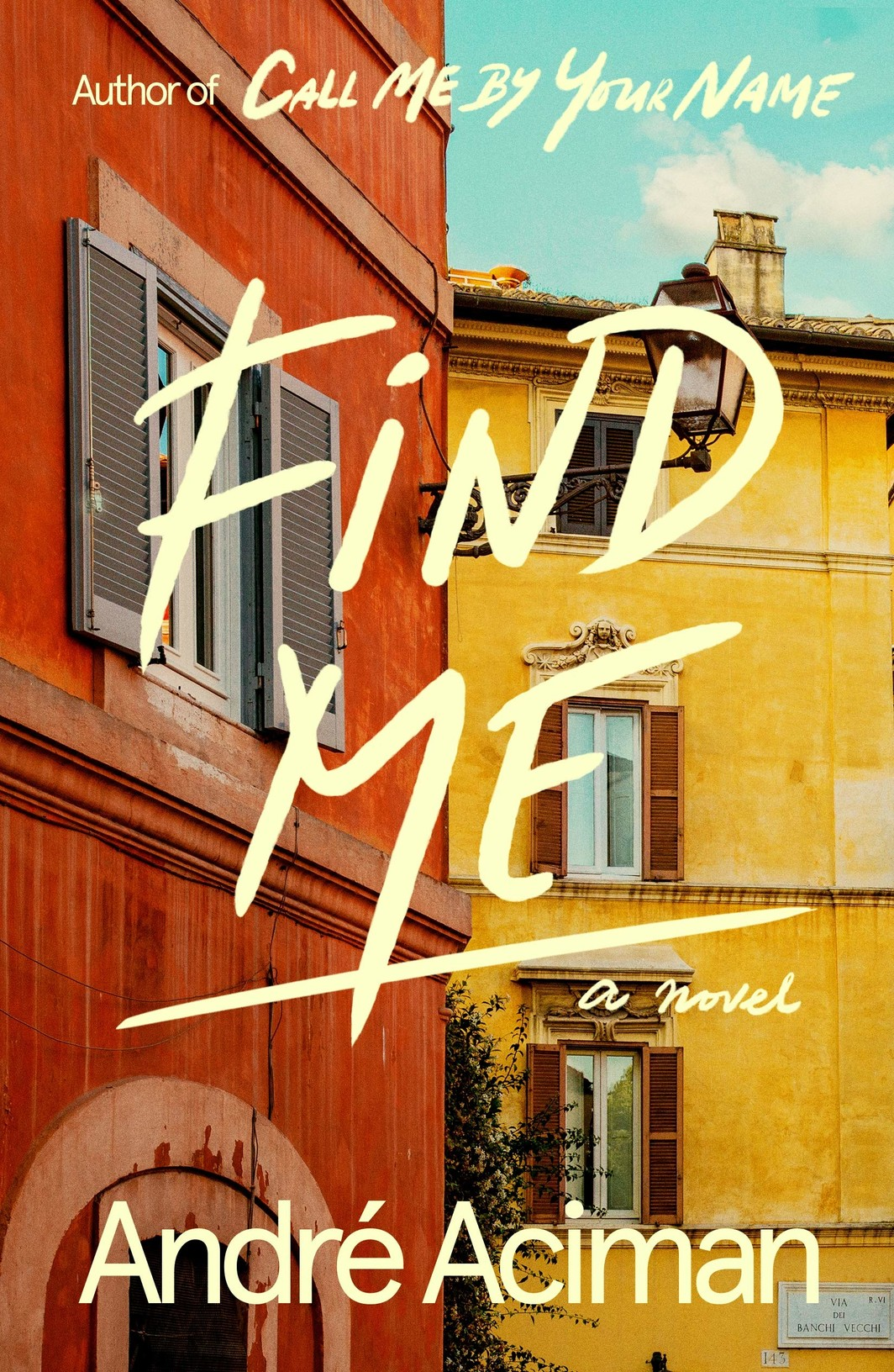 The cover of Find Me