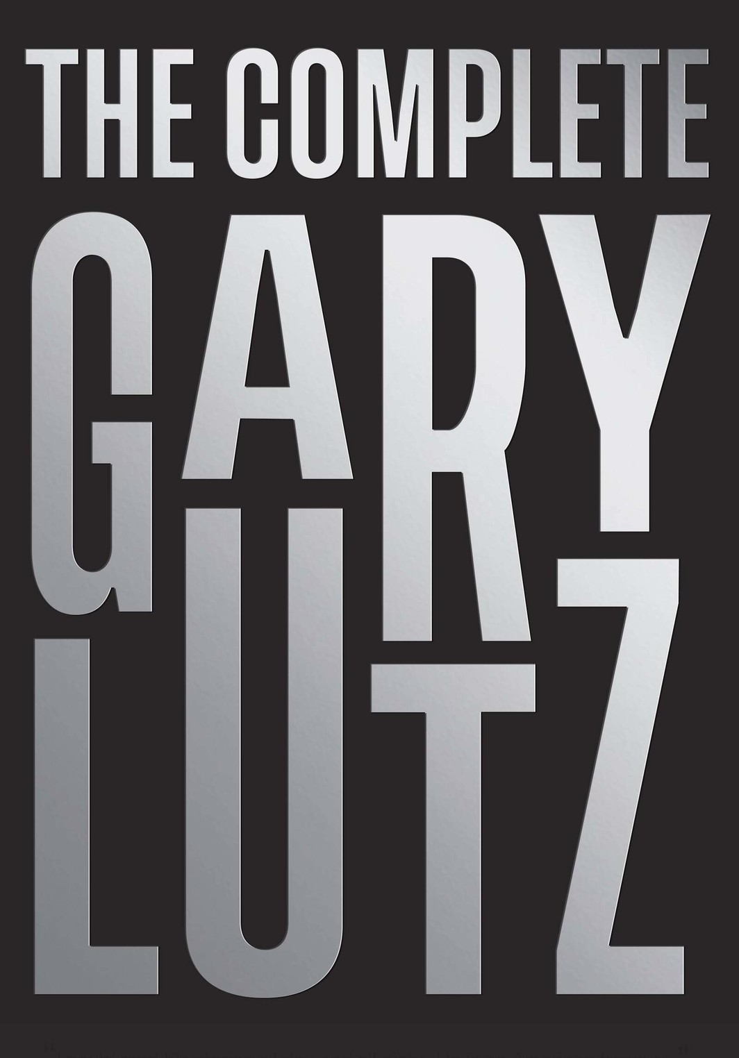 The cover of The Complete Gary Lutz