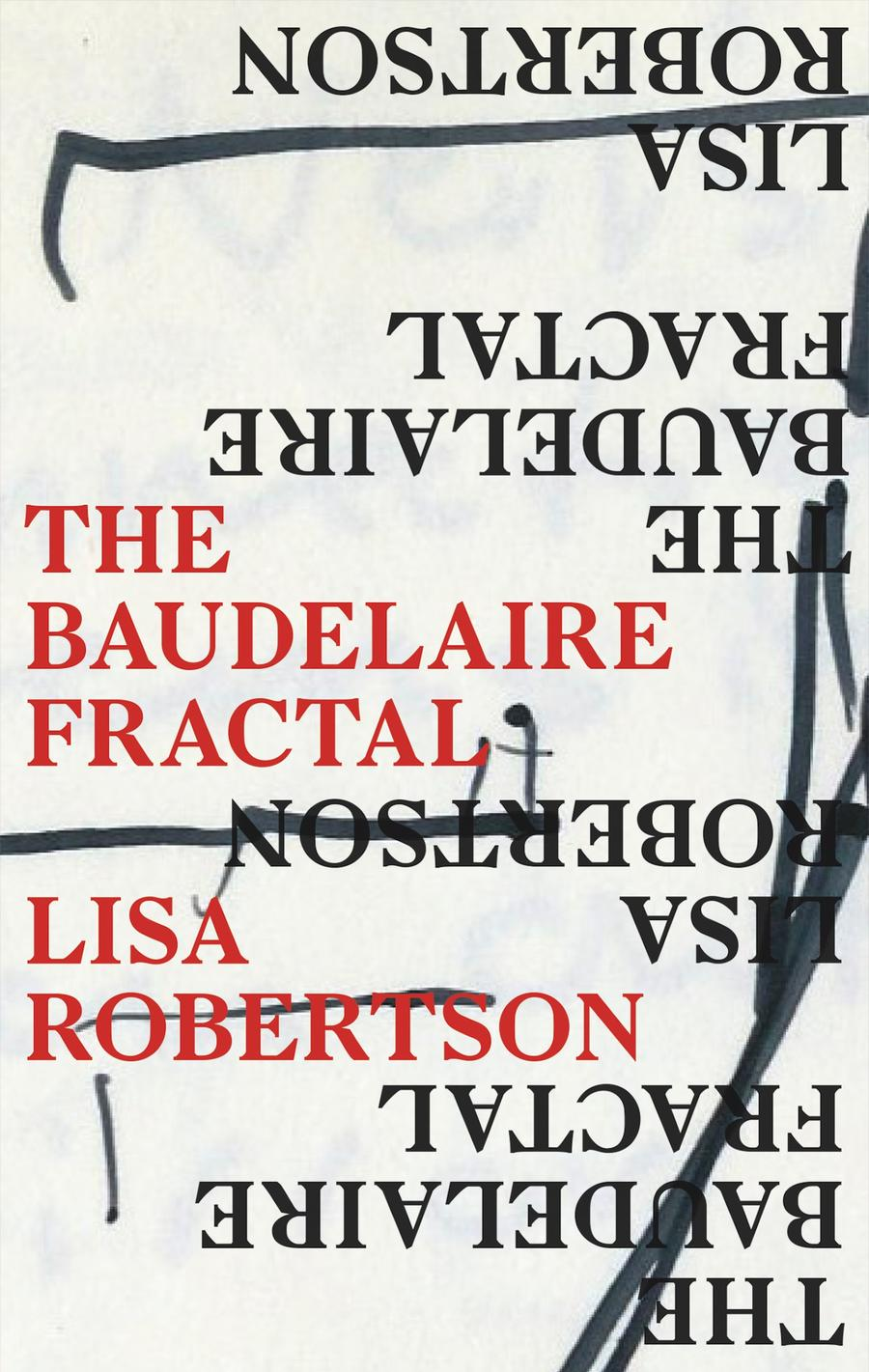 The cover of The Baudelaire Fractal