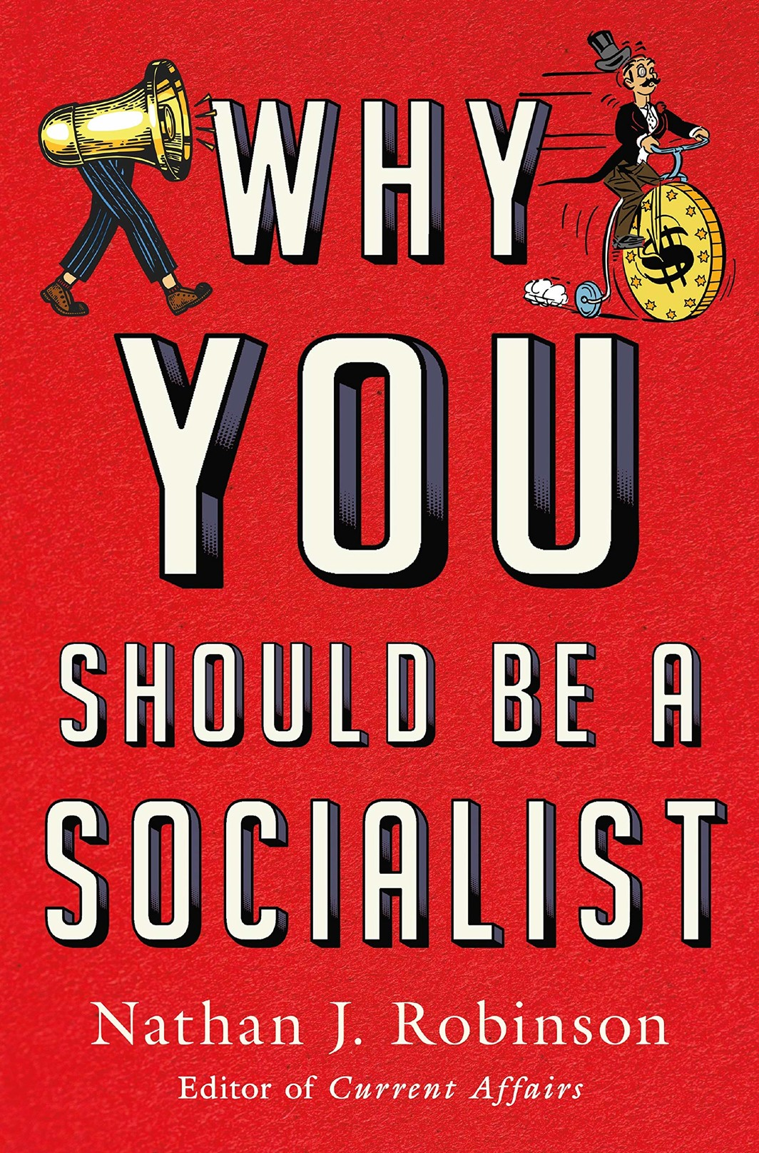 The cover of Why You Should Be a Socialist