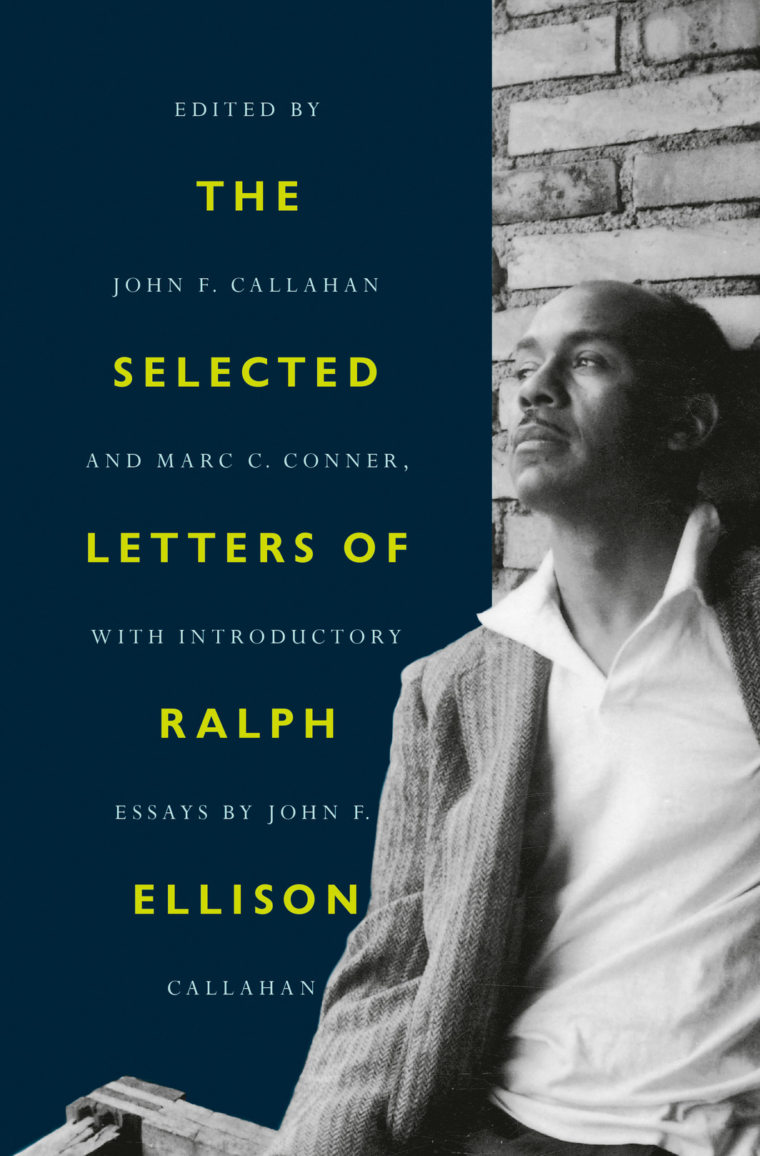 The cover of The Selected Letters of Ralph Ellison