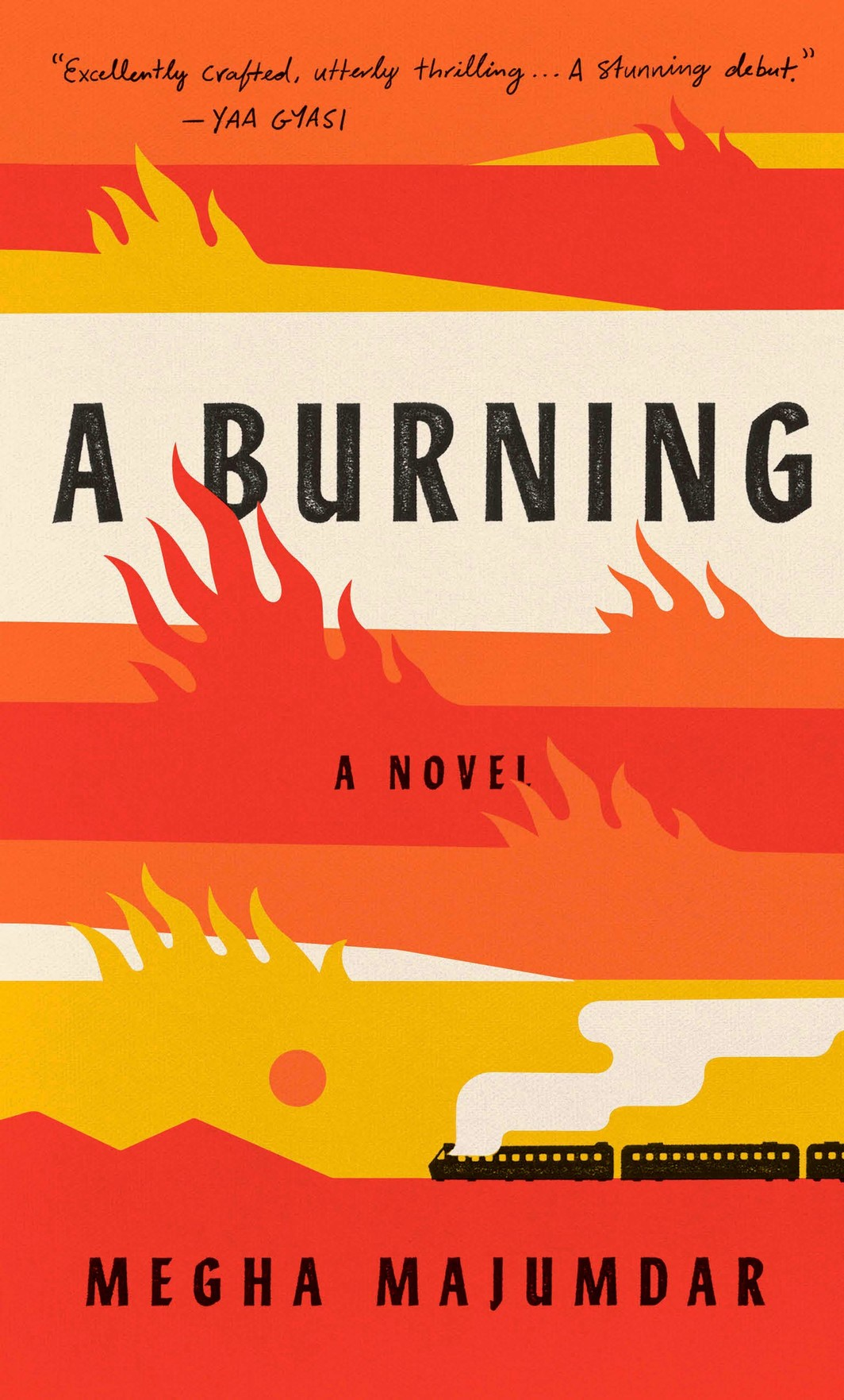 The cover of A BURNING