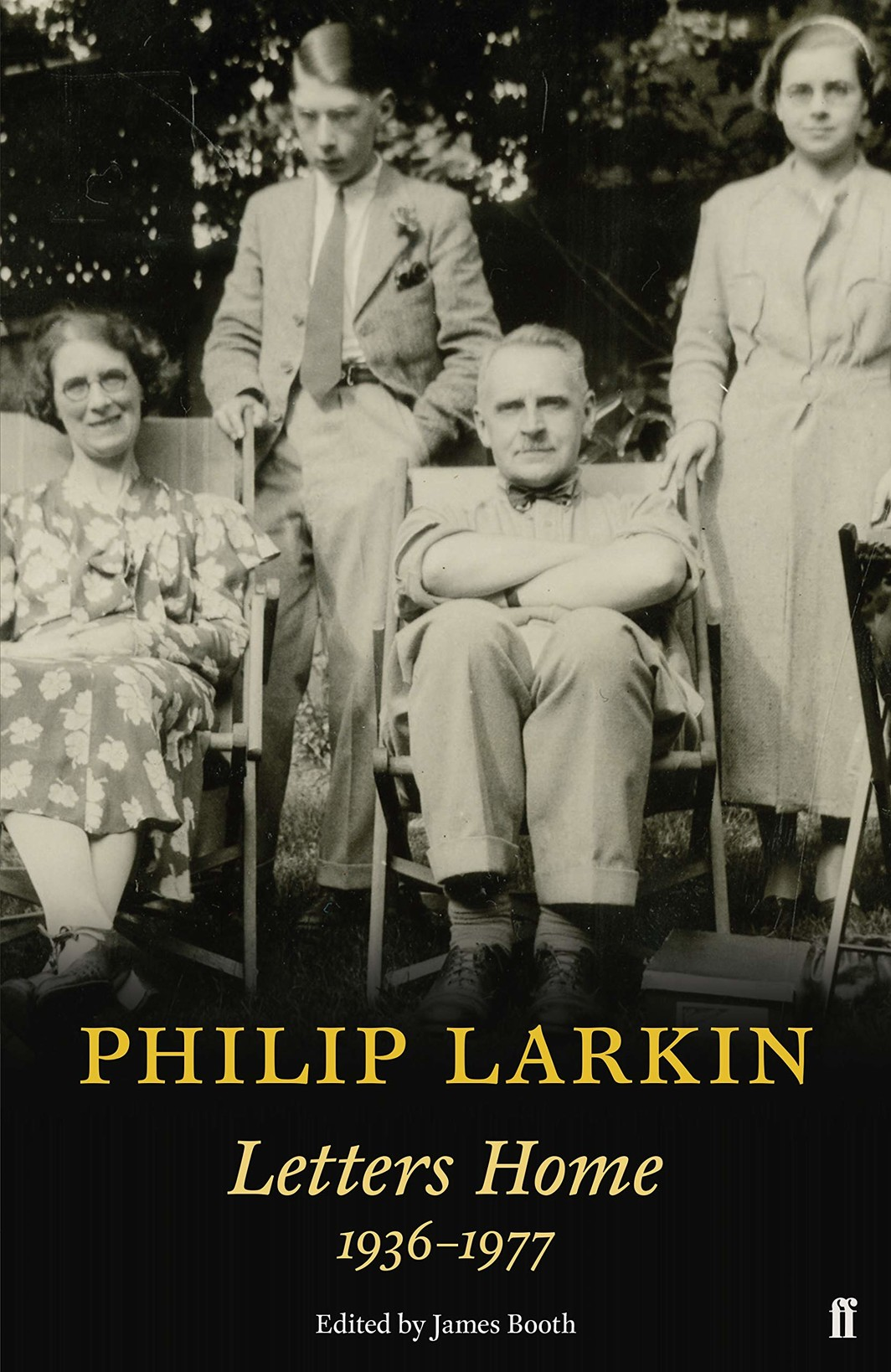 The cover of Philip Larkin: Letters Home, 1936–1977