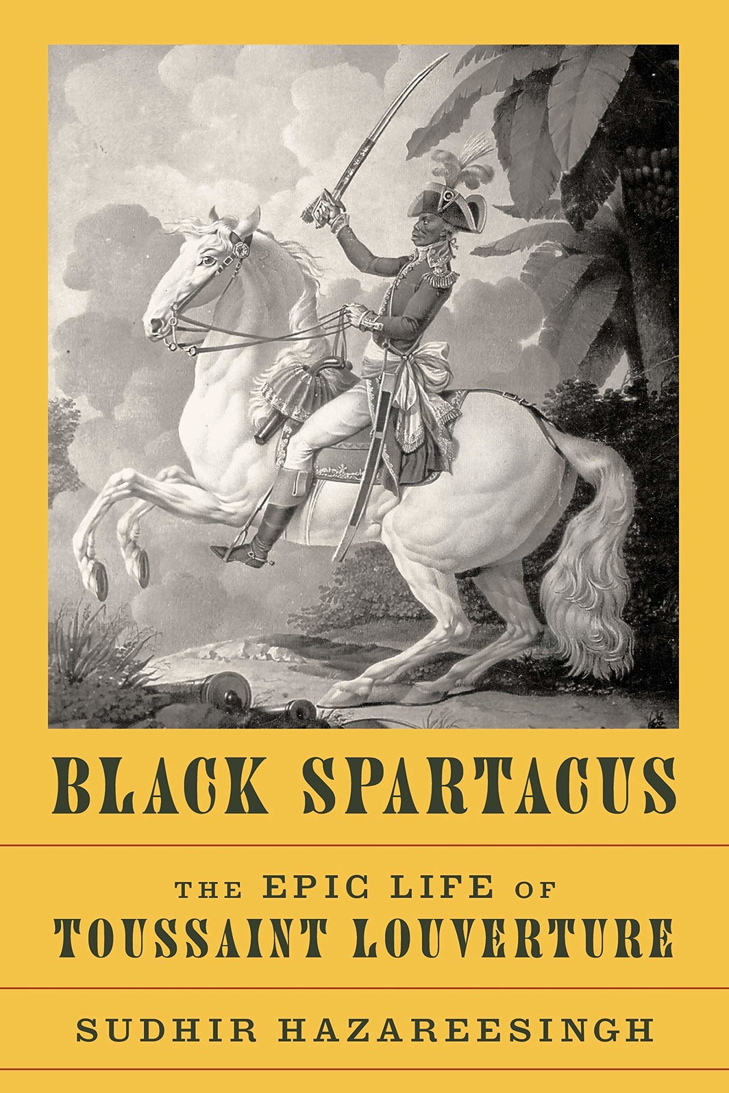 The cover of Black Spartacus: The Epic Life of Toussaint Louverture