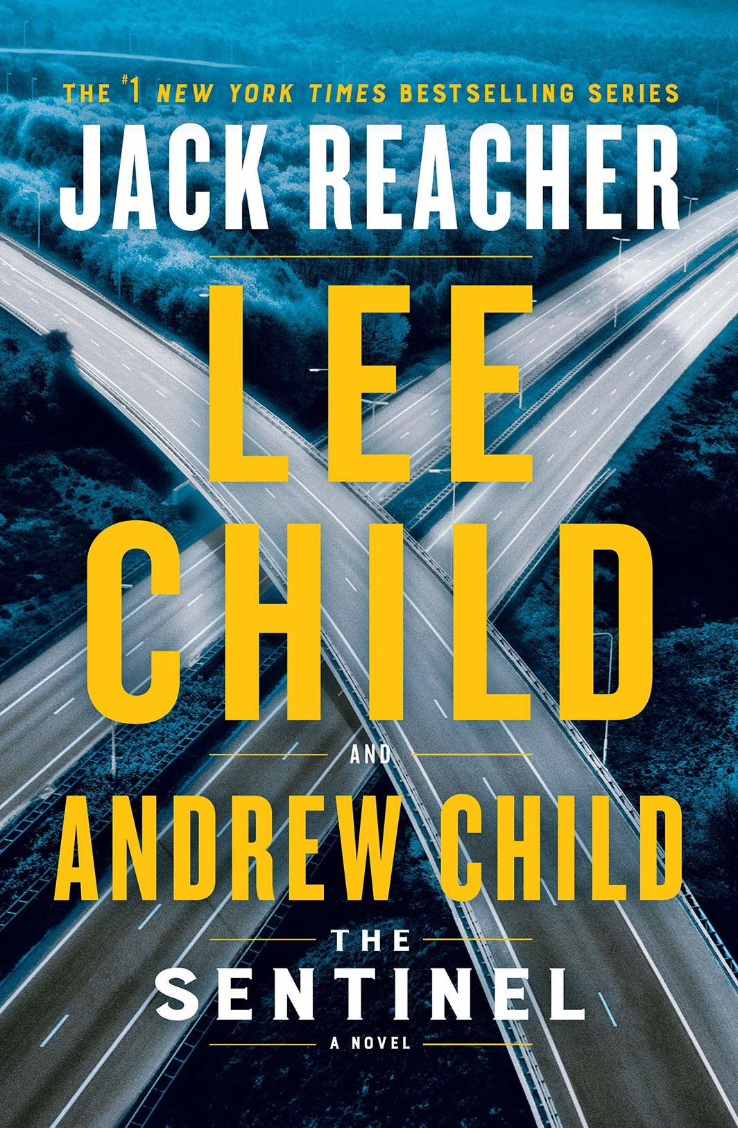 The cover of The Sentinel: A Jack Reacher Novel