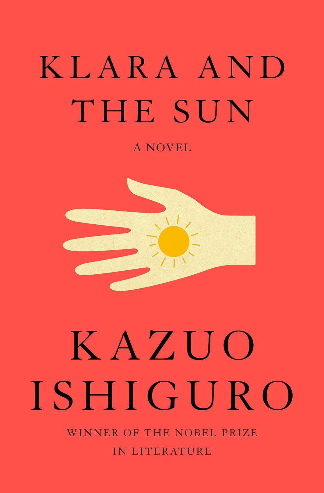 The cover of Klara and the Sun: A novel