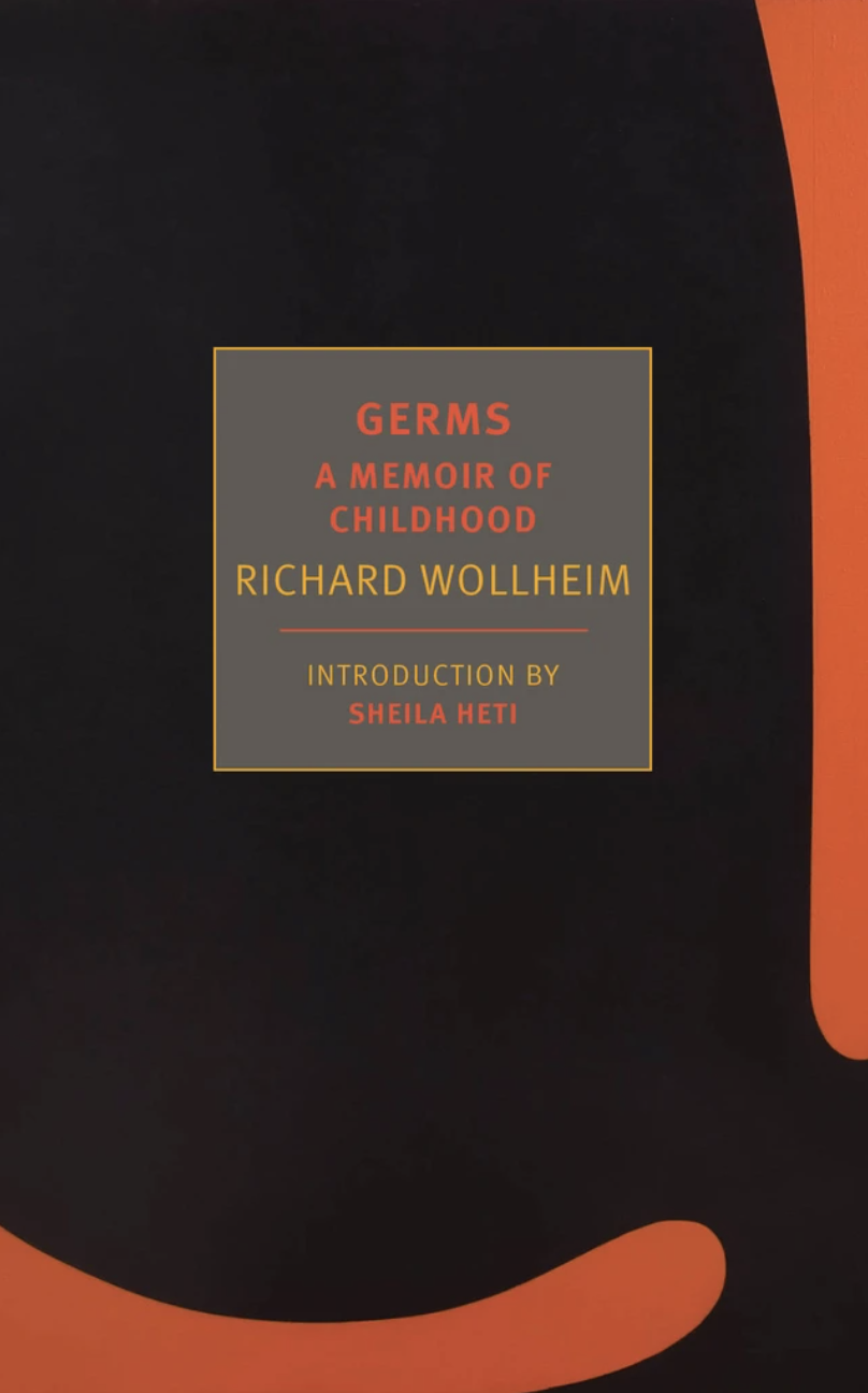 The cover of Germs: A Memoir of Childhood