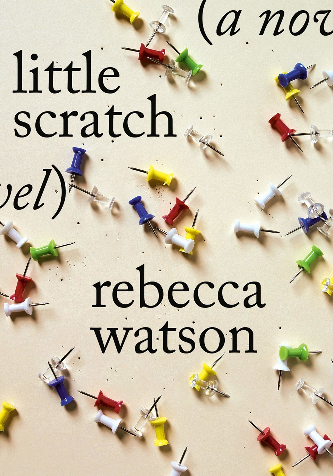 The cover of little scratch: A Novel