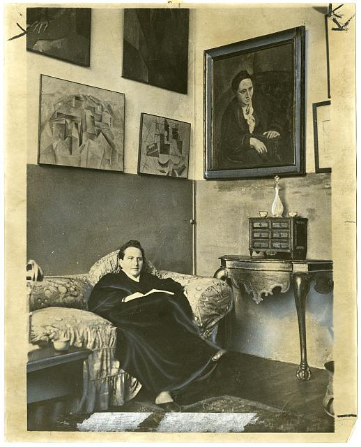 Gertrude Stein. Library of Congress