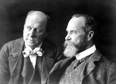 Henry James and his brother William, ca. 1899–1901.