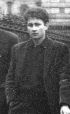 Guy Debord at age nineteen, 1951.