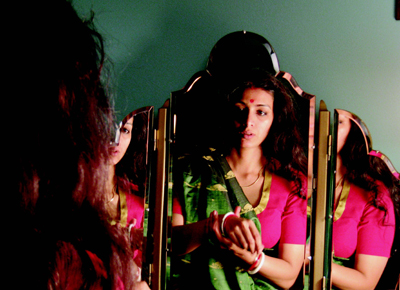 Tabu as Ashima Ganguli in The Namesake, directed by Mira Nair, 2006.