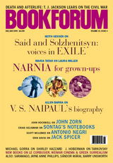 Bookforum Dec/Jan 2009