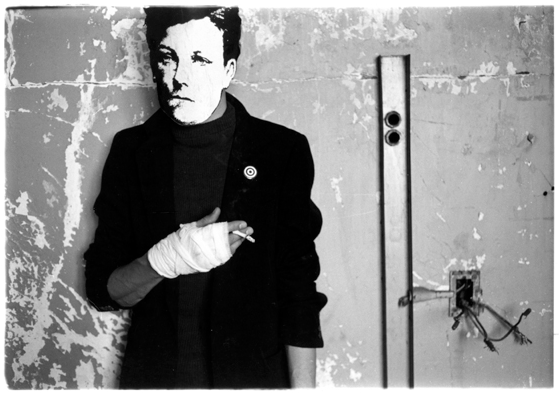 Untitled (Rimbaud in New York), by David Wojnarowicz, from the Fales Library.