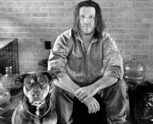 David Foster Wallace and friend