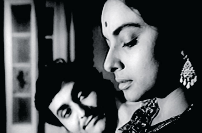 A scene from Satyajit Ray's 1964 film Charulata, based on a story by Rabindranath Tagore.