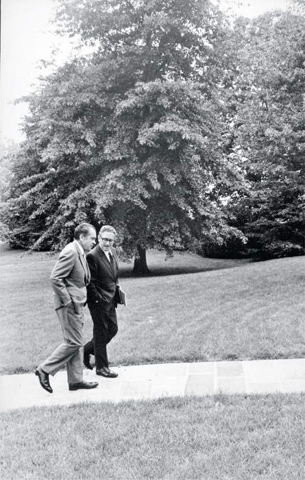 Richard Nixon and Henry Kissinger in Washington, 1971.