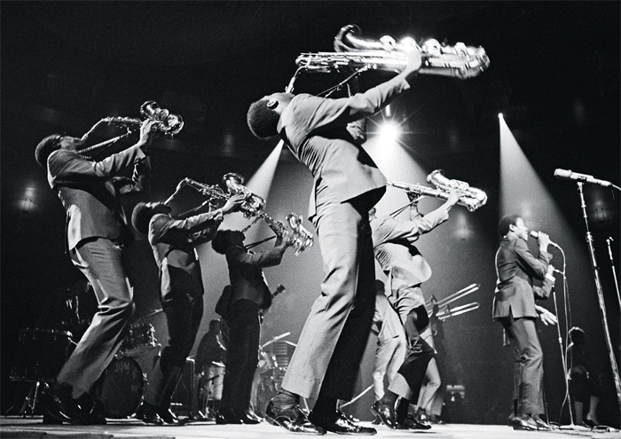 The Sam & Dave Orchestra, June 28, 1968.