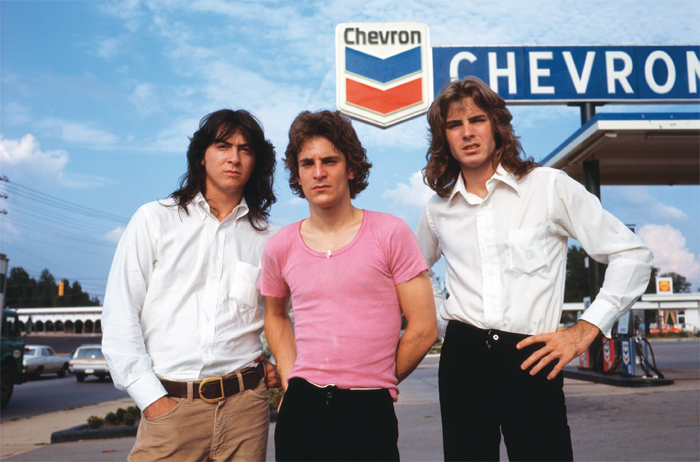 From left: Andy Hummel, Alex Chilton, and Jody Stephens in 1973; from Drew DeNicola and Olivia Mori's 2012 film, Big Star: Nothing Can Hurt Me.