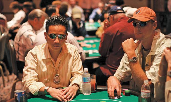 World Series of Poker game, 2005.
