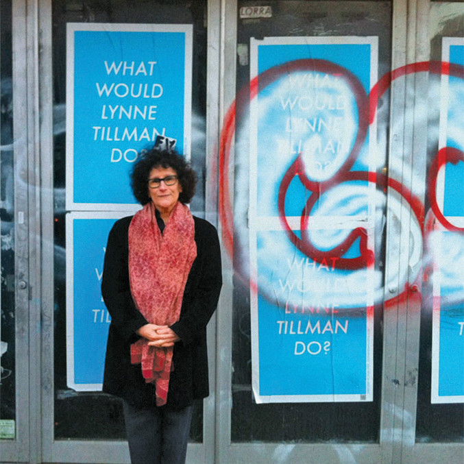 Lynne Tillman, Second Avenue, New York City, 2013.
