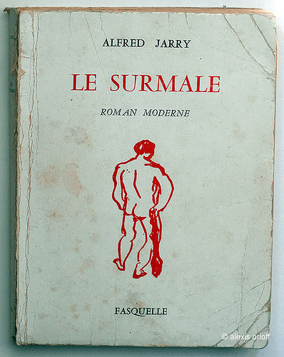 The 1953 Fasquelle Editeur edition of  Le Surmale by Alfred Jarry